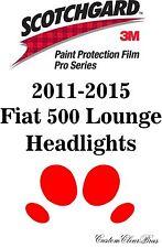 3M Scotchgard Paint Protection Film Pro Series Lights 2011 2015 Fiat 500 Lounge