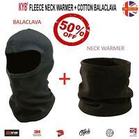 Facemask Balaclava Fleece Neck Warmer Tube Snood Motorcycle Motorbike Face Mask