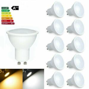 1/5/10PCS GU10 6W 220V LED Bulbs Lamps Cool Warm White Down Light Energy Saving