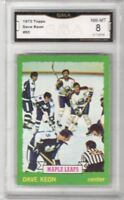 1973-74 Topps #85 Dave Keon | Graded NM/MT | Toronto Maple Leafs