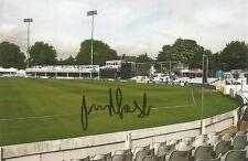 7) 6 X 4 Pulgadas Foto firmado personalmente por Essex Jugador de Cricket James Foster.