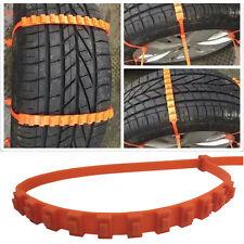 10X Car Truck Snow Wheel Tire Kit Anti-skid Antiskid Chains Thickened Tendon TPU