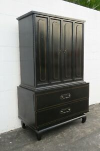 Hollywood Regency Chest of Drawers Wardrobe by American of Martinsville 2434
