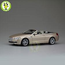 1/43 BMW 650i Cabrio Open Top Diecast Car Model Gold