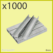 1000 Pieces 8mm Staples Thin Type Quality Staple For Stapler & Staple Gun