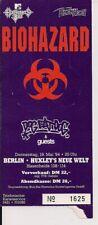 BIOHAZARD & Dog Eat Dog Used Ticket Berlin 19.04.1994