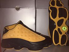 NEW: AIR JORDAN 13 RETRO LOW SZ 14 BLACK/CHUTNEY #310810-022