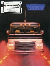 Vogue Reisemobil Prospekt 1982 brochure american motorhomes catalog brosjyre