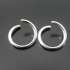 200x Vintage Silver Jumping Ring Stainless Steel Accessory Jewelry Making 51921