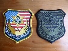 Air Support Unit County Patch LOT of 2 East Baton Rouge Helicopter
