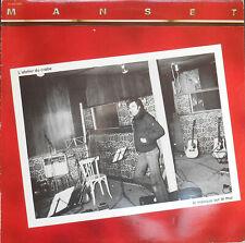 GERARD MANSET L'ATELIER DU CRABE LP 1981  ex++