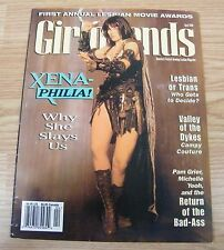 Girlfriends - First Anual Lesbian Movie Awards Magazine - Xena Cover **READ**