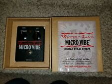 Voodoo Lab Micro Vibe Pedal Uni-Vibe Guitar Effect