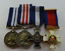 More details for elizabeth ii medals. distinguished cross, dsm, dso, bravery, er-ii naval