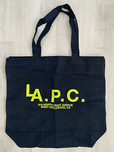 A.P.C. LA Exclusive Tote Bag Dark Navy