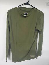 XGO Mens Shirt green Long Sleeve Flame Retardant Raglan Tactica large
