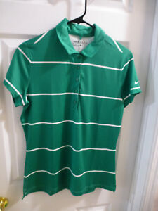 NWT Nike Golf Dri Fit Polo Women Size M 725630 319