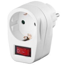 Stromschalter Steckdosenschalter Sparschalter für Steckdosen EIN AUS Schalter