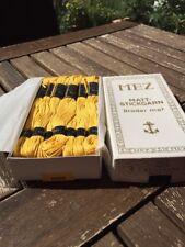 MEZ Perlgarn 3 Farbe 0305 Gelb    4er pack