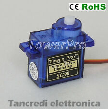 ORIGINALE TOWER PRO SG90 9g Mini Micro Servo for RC Helicopter Airplane Car