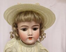 "Antique 23"" Handwerck  Bisque Doll Ball Jointed Body Germany Socket Repair"