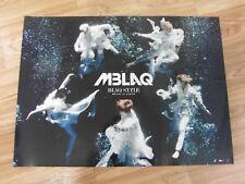 MBLAQ - BLAQ STYLE [ORIGINAL POSTER] M-BLAQ *NEW* K-POP