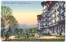 CPA 74 Haute-Savoie Evian-les-Bains Terrasse  Royal Hôtel