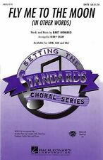 Fly Me To The Moon In Other Words Vocal Choral Learn Sing Piano Music Book