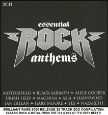 Best Greatest Rock Metal Hits 2CD Ian Gillan Thunder UFO Asia Anthrax Motorhead