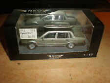 NEO 1/43 Volvo 760 GLE   unfortunately glew resedu on the windows