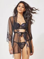 Lace Regular Size Nightwear Robes for Women