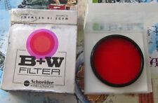 Filtros rojos B&W para cámaras