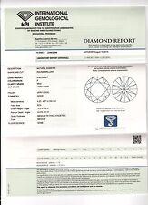DIAMANT 0.30ct Brillant VS2 Top Wesselton (F) IGI