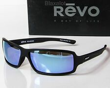 cde020ad30e NEW REVO THRIVE X POLARIZED SUNGLASSES Matte Black Water Mirror lens  RE4037X-11
