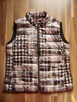 @ Kate Storm @ Weste altrosa-grau-schwarz Size 2XL UK 16 US 14 Gr. 44 leicht