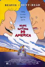 BEAVIS AND BUTTHEAD DO AMERICA Movie POSTER 27x40 Mike Judge Robert Stack Cloris