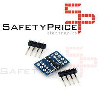 Conversor de nivel TTL 3,3 - 5 Vdc Bidireccional TTL, I2C, UART, SPI, Arduino SP