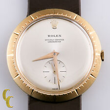 Rolex Modele de Depose 9522 18k Yellow Gold Hand-Winding Watch Box Papers