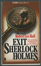 Exit Sherlock Holmes Robert Lee Hall Sphere 1979 First Paperback Good Condition