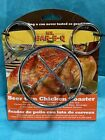 Beer Can Chicken Holder Stand Mr. Bar-B-Q 06126 Chrome Plated Steel