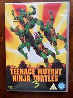 Teenage Mutant Ninja Turtles 3 DVD III 1993 Film