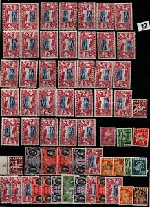 / LITHUANIA - MNH+MH - PLANES, AVIATION, FAMOUS PEOPLE - 60 STAMPS