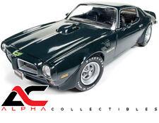 AUTOWORLD AMM1109 1:18 1973 PONTIAC FIREBIRD TRANS-AM MCACN BREWSTER GREEN