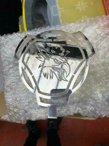 Scania detailed Griffin dashboard badge