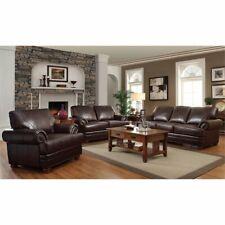 Coaster Leather Sofa Sets for sale   eBay