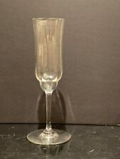 "Baccarat Crystal Capri Champagne Flute Glass 7 3/8"" Tall"
