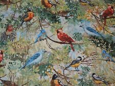 Birds Springs Creative 100% Cotton Fabric 1/2 Yard Precut