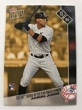 2017 Topps NOW MLB OSB-1 2017 ROOKIE OF THE YEAR Award Winner Aaron Judge