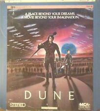 DUNE 1984 CED VIDEODISC NTSC CLOSED CAPTION