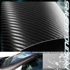 "For Scion Subaru 84""x50"" Flexible Carbon Fiber Vinyl Film Wrap Roll Sheet Decal"
